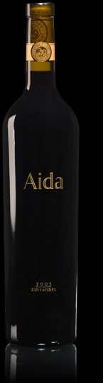 2005 aida zinfadel bottle